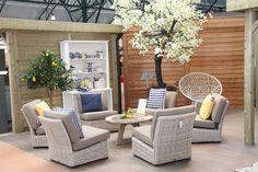 Fonteyn Showroom <3 Tuinset - Tuinmeubelen - Tuinmeubels - Garden - Furniture - Seats - Seat - Tuinstoel - Stoelen - Wicker - Tuin