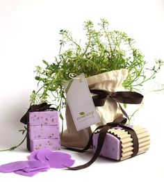 Lavander soap by www.greengift.com.ar