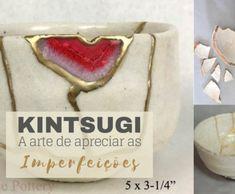 DIY - Kintsugi the art of restoring ceramics Dyi Crafts, Yarn Crafts, Arts And Crafts, Kintsugi, Wall Christmas Tree, Crochet Table Runner, Crafty Craft, Love Crochet, Needlepoint