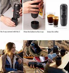 Luxury Portable Espresso Machine Capsule – storetrends