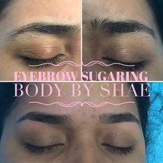 Eyebrow shaping with sugar Eyelashes, Eyebrows, Sugaring Hair Removal, Yoni Steam, Lash Lift, Body Contouring, Body Treatments, Eyelash Extensions, Eye Makeup