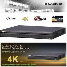 NVR IP Grabador 4K Dahua 16  Alta calidad al mejor precio compruébelo en tienda24hs.com
