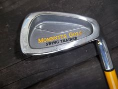 Momentus Men's Swing Trainer Iron, 40oz, Right Hand Handed Golf Training Aide #MomentusGolf