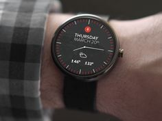 Simple Android Wear UI