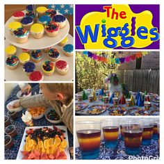 Loved the wiggles theme for our 2 year olds birthday party! So easy and lots of fun 💜❤️💛💙