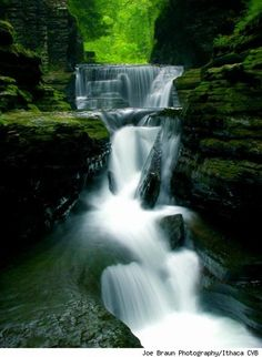 waterfalls ithaca | Ithaca, Waterfalls' Haven Is Better than Ulysses' Paradise