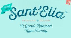 Sant Elia Free Font