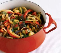 My favorite summer time provincial dish -Ratatouille