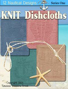 Knitted Dishcloth Patterns Nautical Theme
