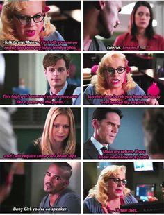 Criminal Minds Memes, Spencer Reid Criminal Minds, Hey Baby Girl, Penelope Garcia, Crimal Minds, Music Mood, Matthew Gray Gubler, Super Funny, Ten