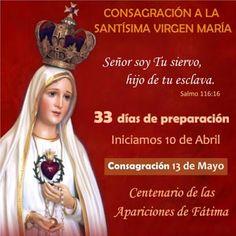 MARIA MADRE CELESTIAL: CONSAGRACIÓN A LA SMA. VIRGEN MARIA