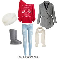 Hey you filthy animals get comfy with this outfit on Christmas Eve ...