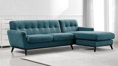 canape angle droit capitonne vintage tissu bleu 16 stockolm mobiliermoss
