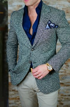 S by Sebastian Tweed Granelli in Sand Jacket