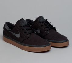 Nike SB Stefan Janoski Low – Black / Gum Medium Brown – Anthracite