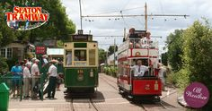 For a great day out in Devon, visit Seaton Tramway a attraction featuring a narrow gauge electric tramway running 3 miles from Seaton to Colyton via Colyford