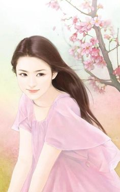 Chinese girl art