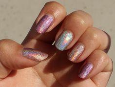 Nfu Oh - Hologram nail polishes