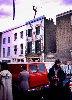 Portobello Road, London. Oct.1977
