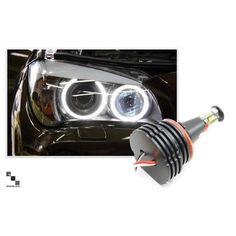 Bimmian LUX92AW11 LUX Halo Upgrade Kit Pair For E92 & E93 and ALL E92 M3, LUX H8 160 - Super bright 7000K, As Shown