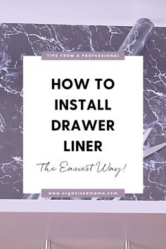 Learn how to easily install drawer liners. By using drawer liners, you are protecting your drawers as well as adding a beautiful design or pop of color to your drawers. Keep your dresser drawers clean and organized by using drawer liner! Check out the blog for more information on how to easily install drawer liner. Kids Bedroom Organization, Linen Closet Organization, Small Space Organization, Kitchen Organization, Organizing, Lining Drawers, Update Kitchen Cabinets, Kids Dressers, Drawer Liners