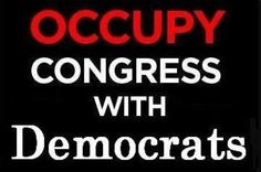 Occupy congress with .......with real democratic representatives of the people