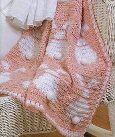 Crochet For Children: Baby's Bunny Afghan - Free Pattern