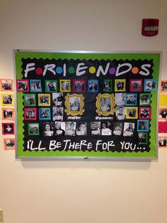 FRIENDS Bulletin Board Idea - MyClassroomIdeas.com