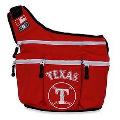 Diaper Dude® MLB™ Texas RangersMessenger Diaper Bag