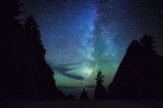 Shi Shi Beach Milky Way by Michael Matti | by Michael Matti