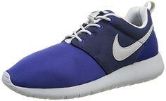 Nike Roshe One (GS), Jungen Sneakers, Mehrfarbig (Deep Royal Blue/Wolf Grey-Midnight Navy), 36.5 EU - http://uhr.haus/nike/36-5-eu-nike-roshe-one-gs-jungen-sneakers-2