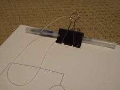 Kids Drawing Pad | Community Post: 54 Uses For Binder Clips That Will Change Your Life