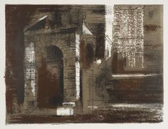 John Piper '[title not known]', 1961 © The Piper Estate
