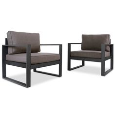Real Flame Baltic Chairs (Set of 2)