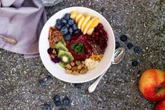 RAINBOW MORNING BOWL W/ BERRY PUDDING!