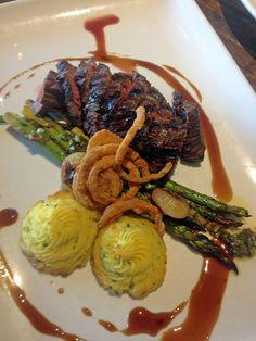 Grilled Bavette Steak