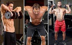 multiple shoulder exercises