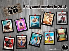 Voidcan.org brings you the list of top ten Bollywood Movies in 2014 and all the information regarding movies which makes them best. List is researched by our bollywood experts.
