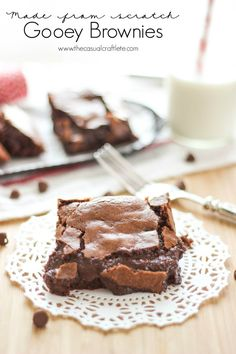 Made From Scratch Gooey Brownies