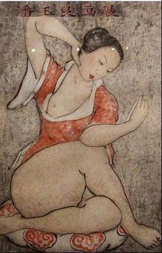 Chinese contemporary art erotic