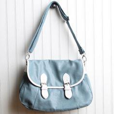 cute blue bag from shopruche