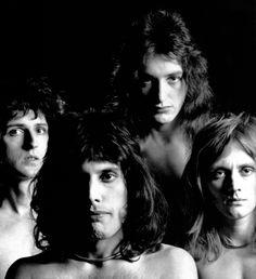 Brian May, Freddie Mercury, John Deacon & Roger Taylor Queen Freddie Mercury, Brian May, John Deacon, Led Zeppelin, Elvis Presley, Queen Banda, Discografia Queen, Brian Rogers, Roger Taylor