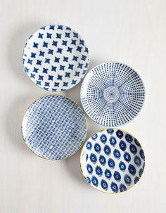 Modcloth My Fare Lady Plate Set
