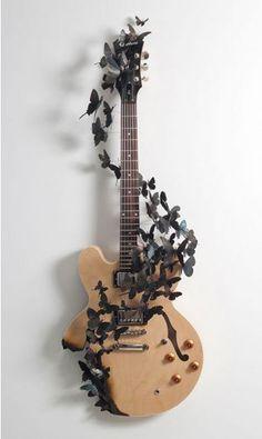 guitarreando entre mariposas