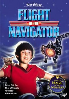Flight of the Navigator (another childhood memory!) #movies