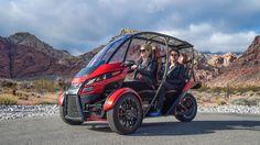 Arcimoto SRK - O mini carro elétrico popular perfeito para os centros urbanos - Stylo Urbano #carros #motos #design