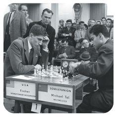 1960 World Chess Championship,   Bobby Fischer for the United States vs Soviet Union
