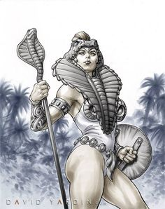 Masters of the Universe - Teela by David Yardin *