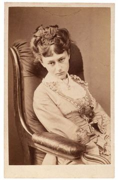 Alice Liddell. by Lewis Carrol 1870