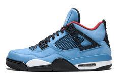 42e3b5193bf6ae Travis Scott x Air Jordan 4 Replica Cactus Jack 308497-406 Basketball  Sneakers For Sale